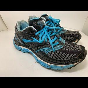 Womens Brooks Glycerin Size 8 Blue Grey Reg $109